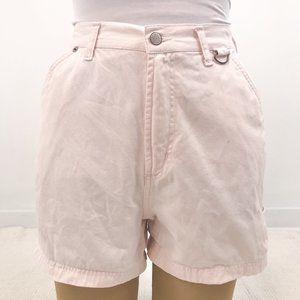 Vintage 90s Bill Blass 10P Pink Jean Shorts
